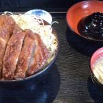 明治屋のソースかつ丼