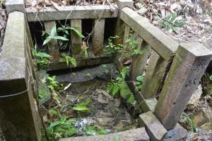■境内奥の謎の井戸